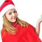 Teen Santa — Stock Photo #1843660