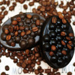 Handmade coffee soap — Stock Photo