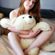 Pretty redheaded girl - Stock Photo