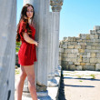 Close to the Ancient Ruins — Stock Photo