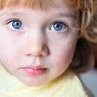 Little girl with blue eyes — Stock Photo #2380683