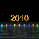 2010 New year — Stock Photo
