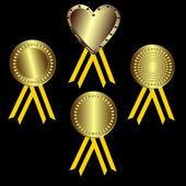 Abstract Awards — Stock Vector