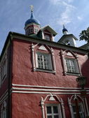 Pechorsky priory — Stock Photo