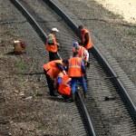 Railway repair — Stock Photo #1213376