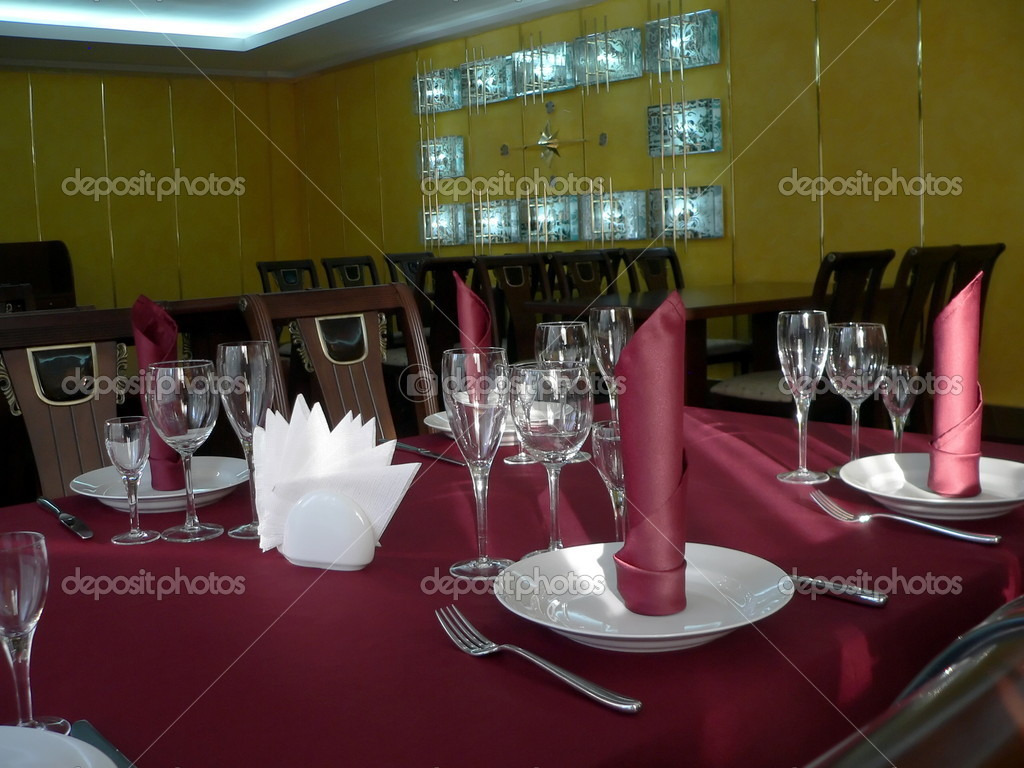 table appointments Decorative set of tableware archival 2015 and 2012 versions of the 3d max.
