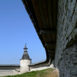 Stock Photo: Courtyard of fortresses