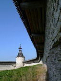 Courtyard of the fortresses — Stock Photo