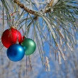 Christmas-tree decorations - 图库照片