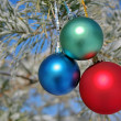 Christmas-tree decorations — Stok fotoğraf