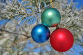 Christmas-tree decorations — ストック写真