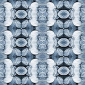 Toned leaves pattern — Stock Photo