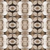 Getönten blätter, sepia — Stockfoto