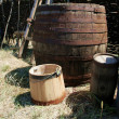 Stock Photo: Barrel and cask