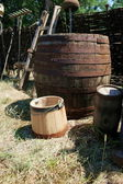 Barrel and cask — Stock Photo