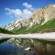 Stock Photo: Small mountain lake