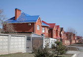 Residential area — Stockfoto