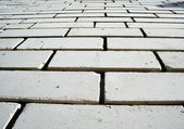 White brickwork — Stock Photo