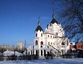 冬の寺院 — ストック写真