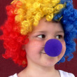 Little clown — Stock Photo #2422435