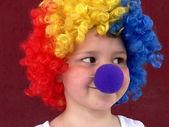 Little clown — Stock Photo