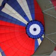 Royalty-Free Stock Photo: Canopy of the big balloon.