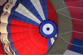 Canopy of the big balloon. — Стоковое фото