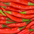 Stock Photo: Red hot chili pepper background