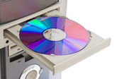 Computer cd-rom — Stock Photo