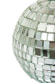Macro of mirror ball — Stock Photo