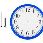 relógio e os ponteiros do relógio — Foto Stock