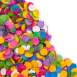 Confetti background — Foto de Stock