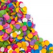 Confetti background - Stock Photo