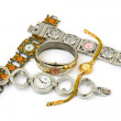 Group of woman watches — Stock Photo