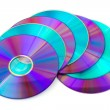 Heap of computer disks — Stock Photo #1183609