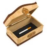 Cigarette in box — Stock Photo #1183672