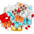 Royalty-Free Stock Photo: Packs of pills