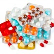 Packs of pills — Stock Photo