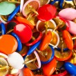 Royalty-Free Stock Photo: Heap of multicolored pins