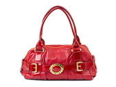 Red woman bag — Stock Photo