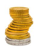 Stack of coins — Foto de Stock
