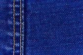 Costura e denim jeans — Foto Stock