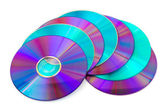 Heap of computer disks — Stock Photo
