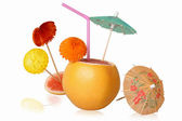 Cocktail a grapefruit — Stock Photo