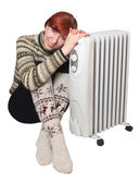 Heater — Stock Photo