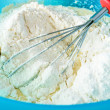 Unmixed flour - Stock Photo