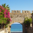 Arch to Mediterranesea — Stock Photo #1173297