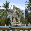 Stock Photo: Balinese modern concrete sculpture