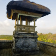 Stock Photo: Traditional balinese temple structure
