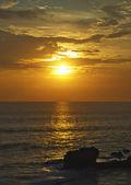 Bali ocean sunset — Stock Photo